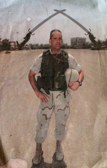 Pete in Iraq